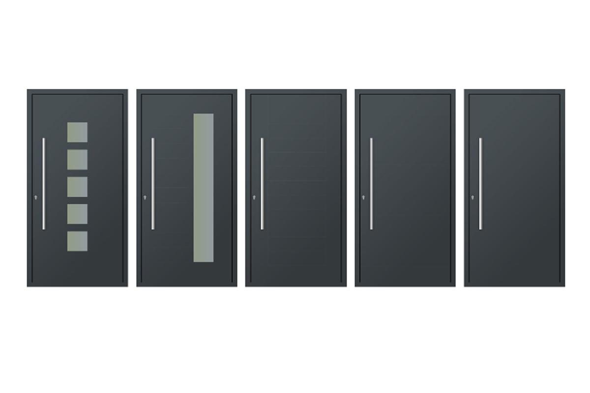 Aluminium Entrance Door 1