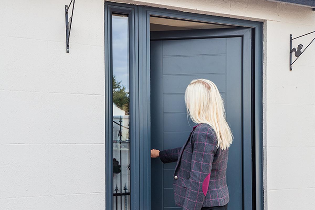Aluminium Entrance Door 2