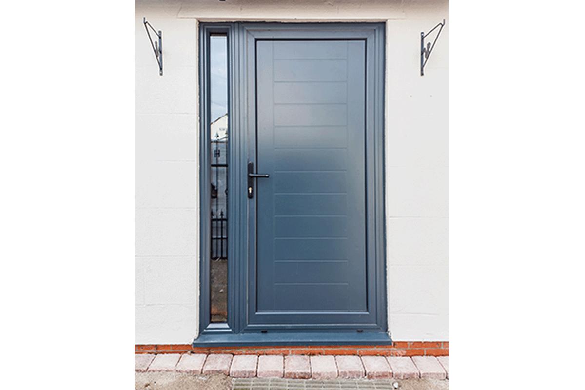 Aluminium Entrance Door 4