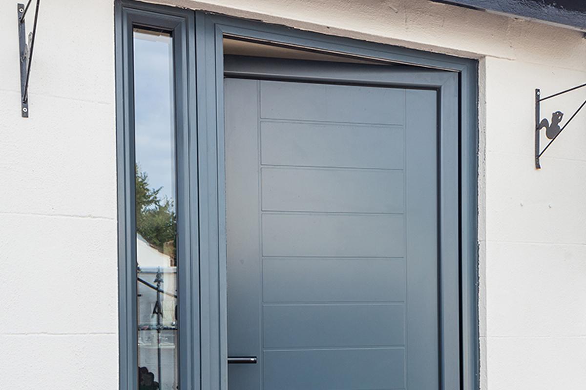 Aluminum Entrance door 3